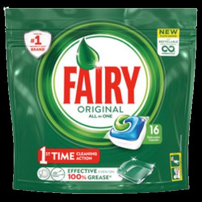 Fairy Caps Original Πλυντηρίου Πιάτων 16τεμ